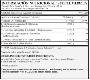 aminox5 maxtop nutrition